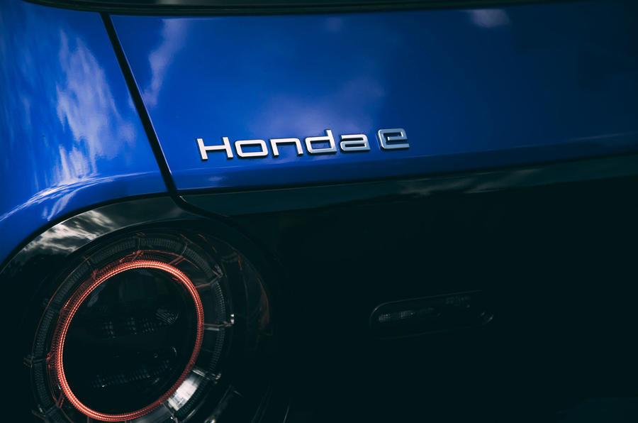 Honda e 2020 : essai longue durée - feux arrière