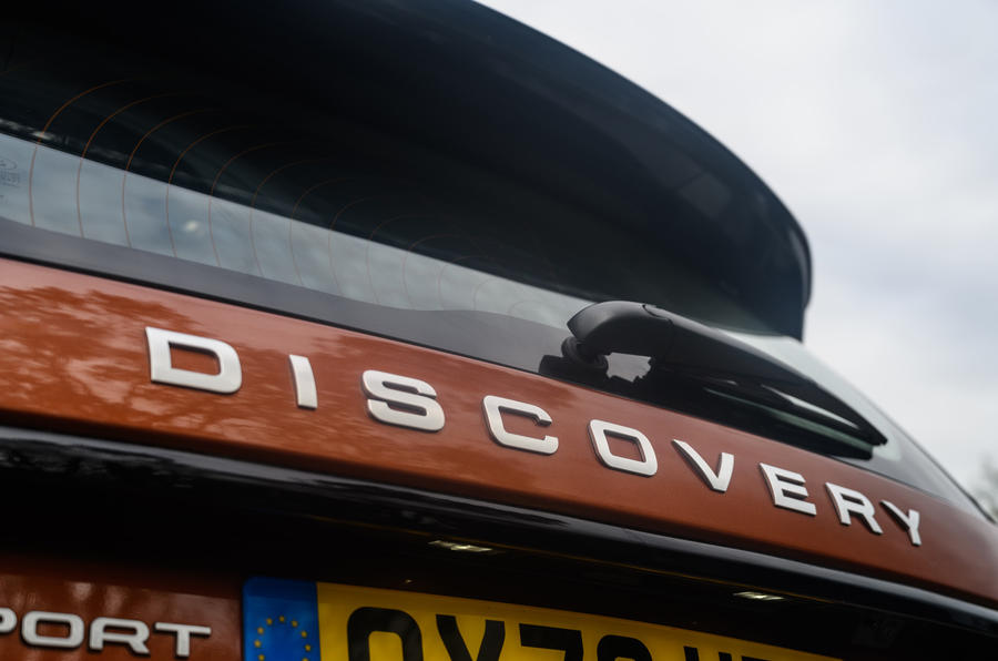 Land Rover Discovery Sport 2020 long-term review - rear badge