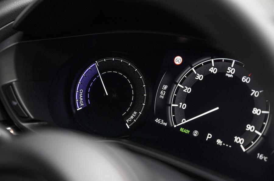 8 Instruments de la Mazda MX 30 2021 LT