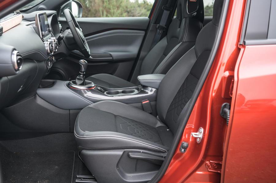 Test & Avis du Nissan Juke 2020 - cabine
