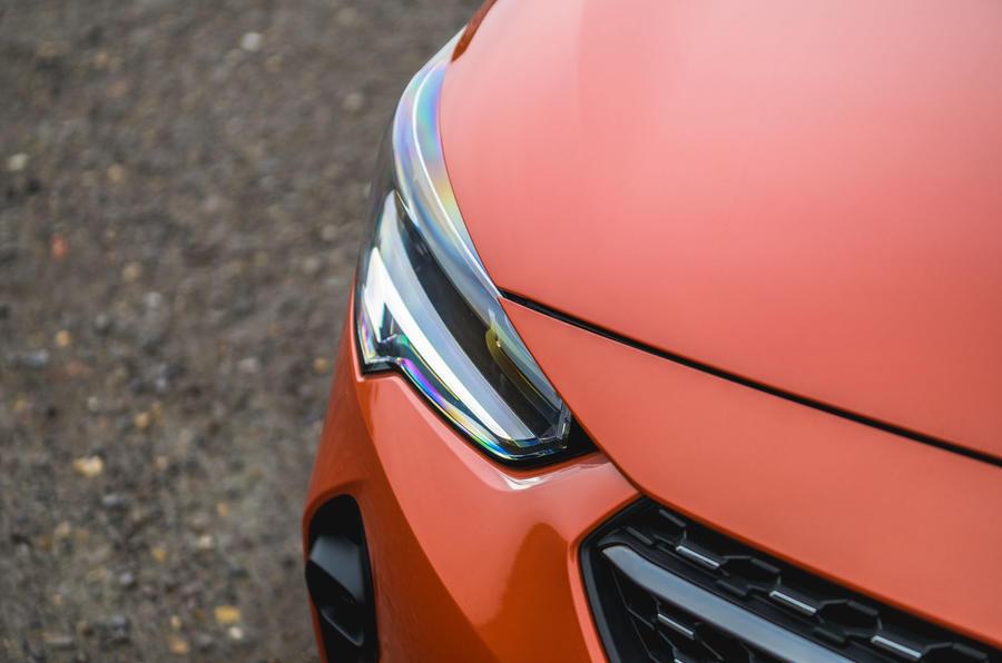 Vauxhall Corsa 2020 long-term review - headlights