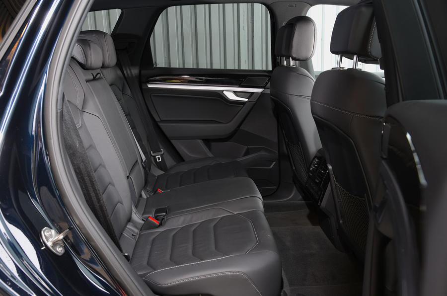 Volkswagen Touareg 2019 long-term review - rear seats