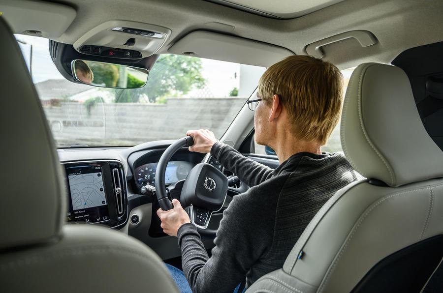 Volvo XC40 Recharge T5 2020 : bilan à long terme - James Attwood au volant