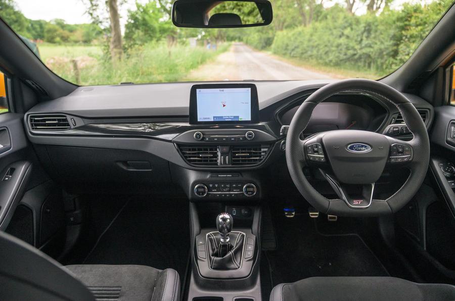 Révision à long terme de la Ford Focus ST 2020 - cabine
