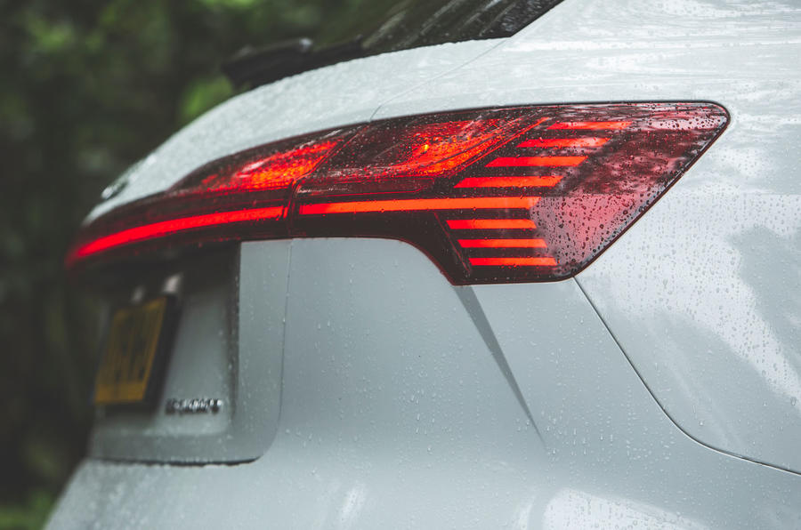 Audi E-tron 2019 long-term review - rear lights