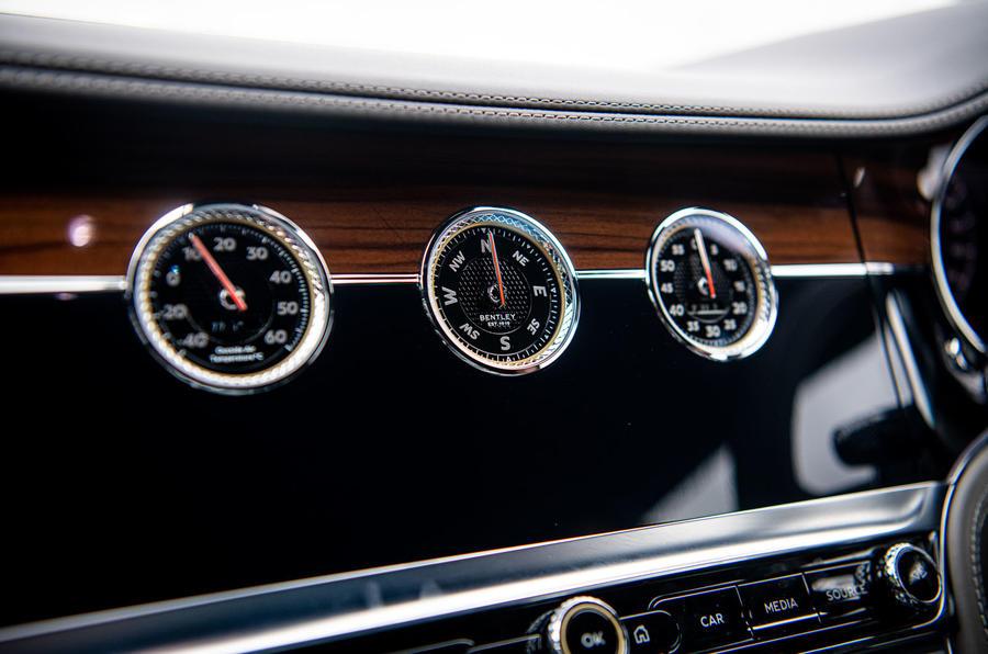 Bentley Continental GT 2019 long-term review - dashboard dials
