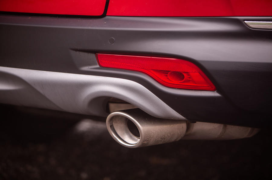 Honda CR-V hybrid 2019 long-term review - exhaust