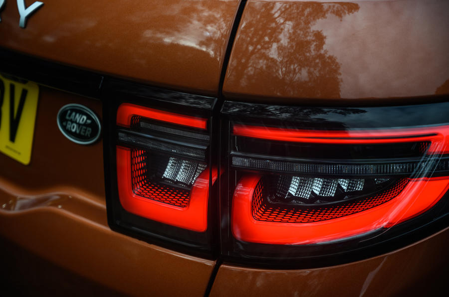 Land Rover Discovery Sport 2020 long-term review - rear lights