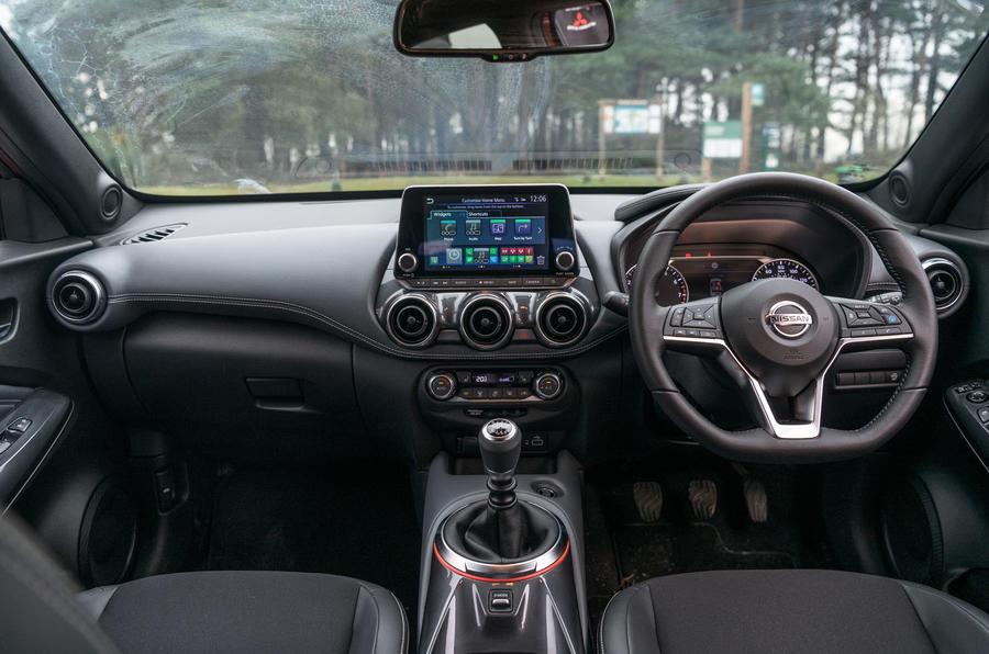 Nissan Juke 2020 : bilan à long terme - tableau de bord