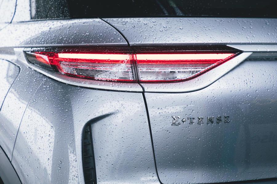 9 Surto car subscription long term test rear lights
