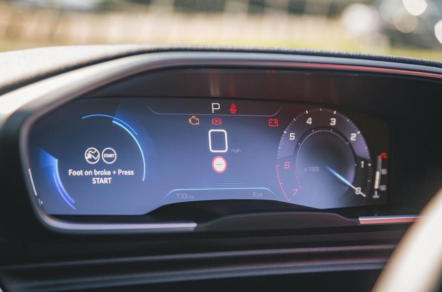 Peugeot 508 2019 : révision à long terme - instruments