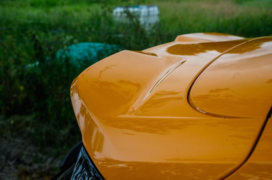 Ford Focus ST 2020 : examen à long terme - spoiler