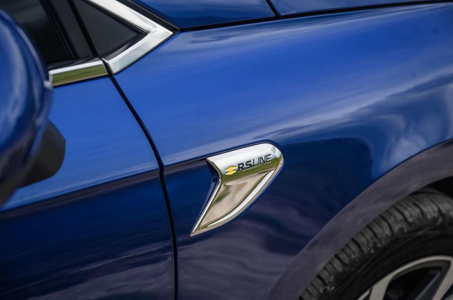 Renault Clio TCe 130 R.S Line 2020 - détail