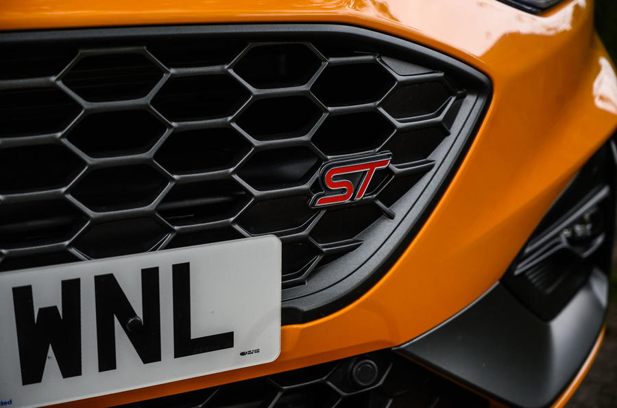 Ford Focus ST 2020 long-term review - front grille