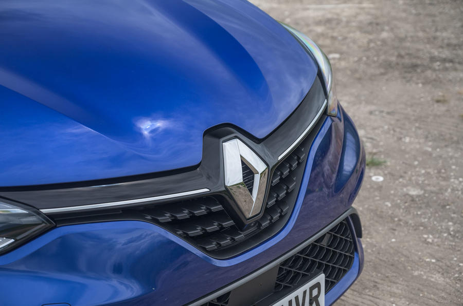 2020 Renault Clio TCe 130 R.S Line - badge