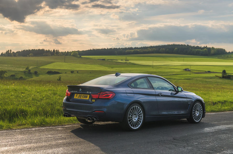 Alpina B4 S 2019 long-term review - Germany trip countryside