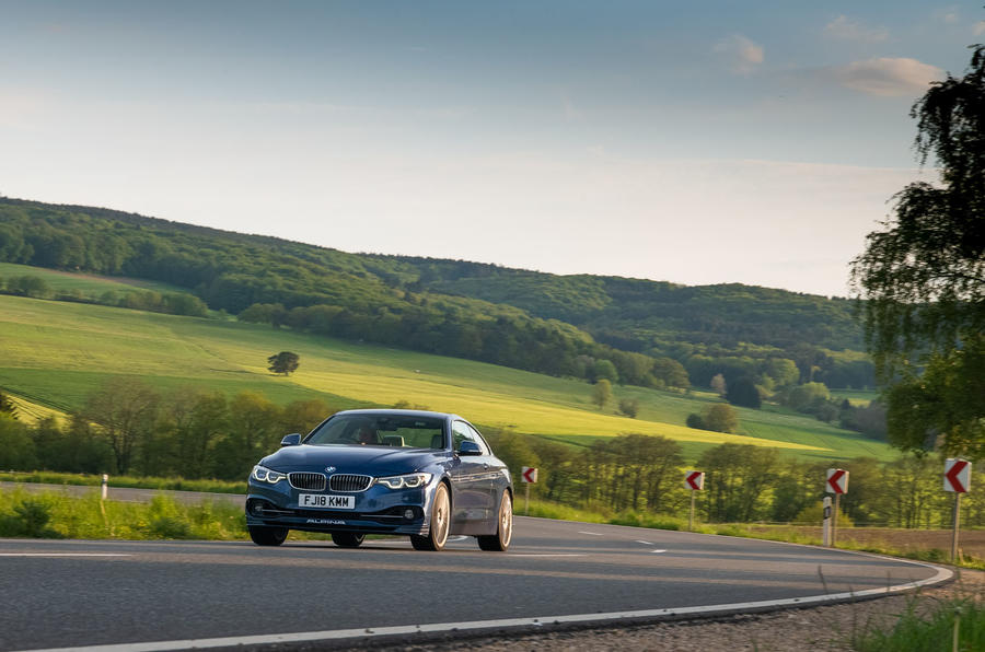 Alpina B4 S 2019 long-term review - Germany trip on the road