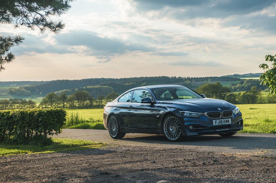 Alpina B4 S 2019 long-term review - Germany trip static