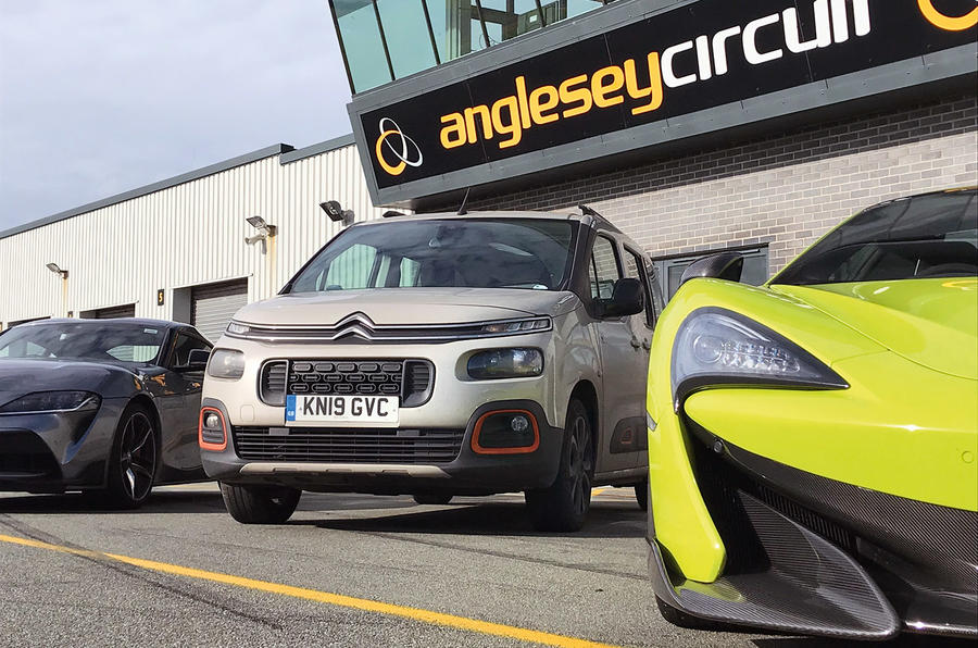 Berlingo at Anglesey