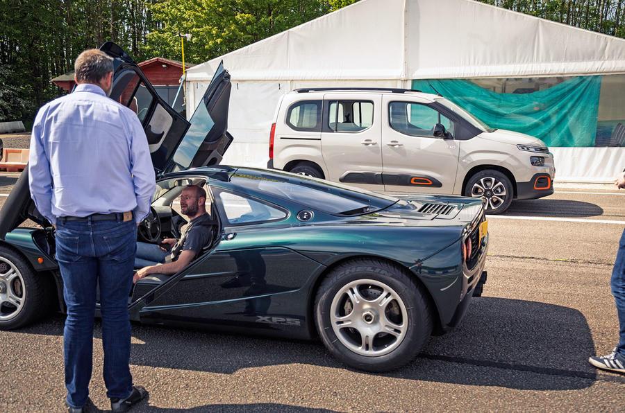 Berlingo meets McLaren F1