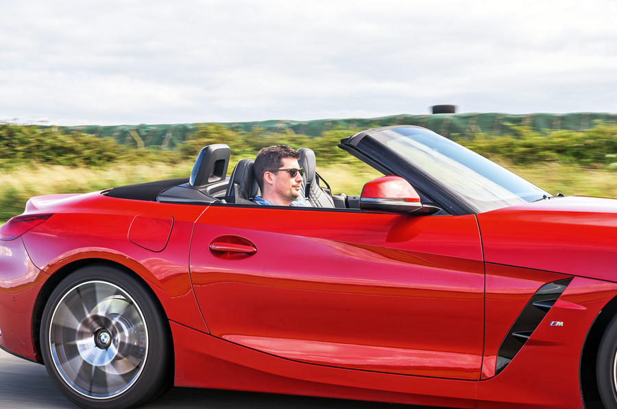 BMW Z4 long-term review - on circuit closeup