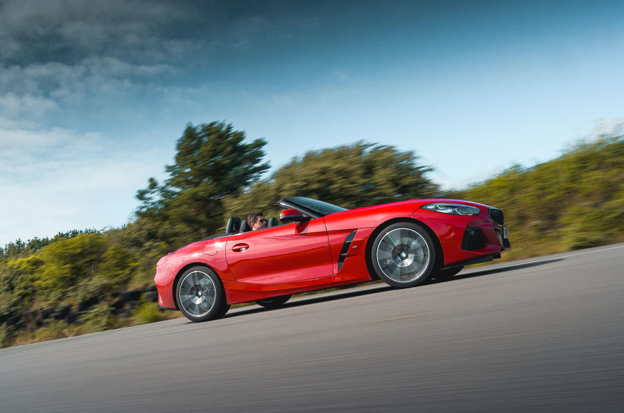 BMW Z4 long-term review - on circuit side