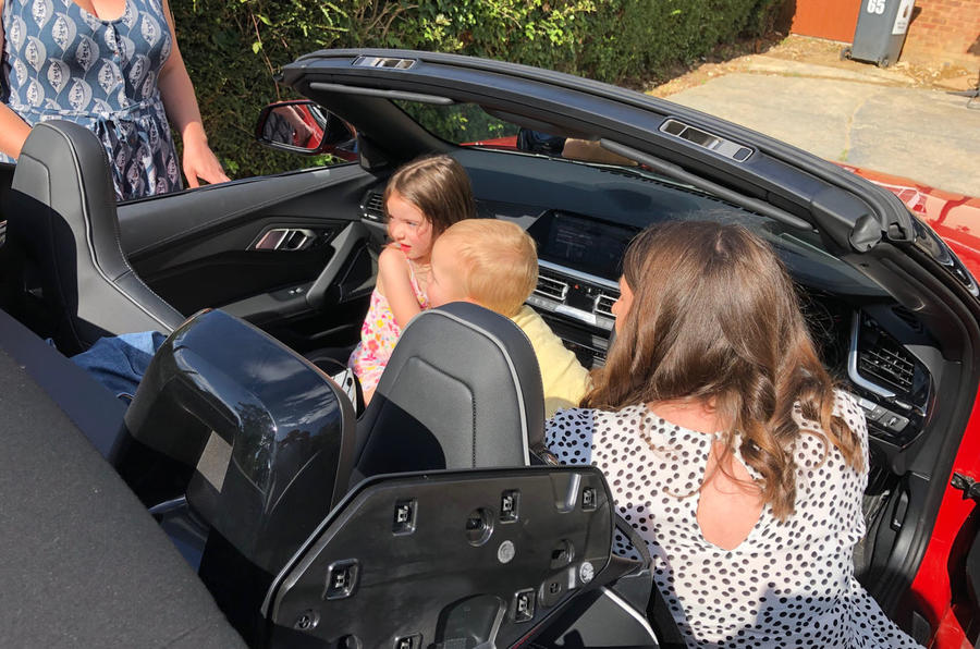 BMW Z4 long-term review - family