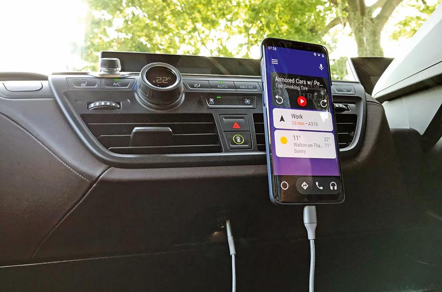 BMW i3S 2019 long-term review - 12v socket