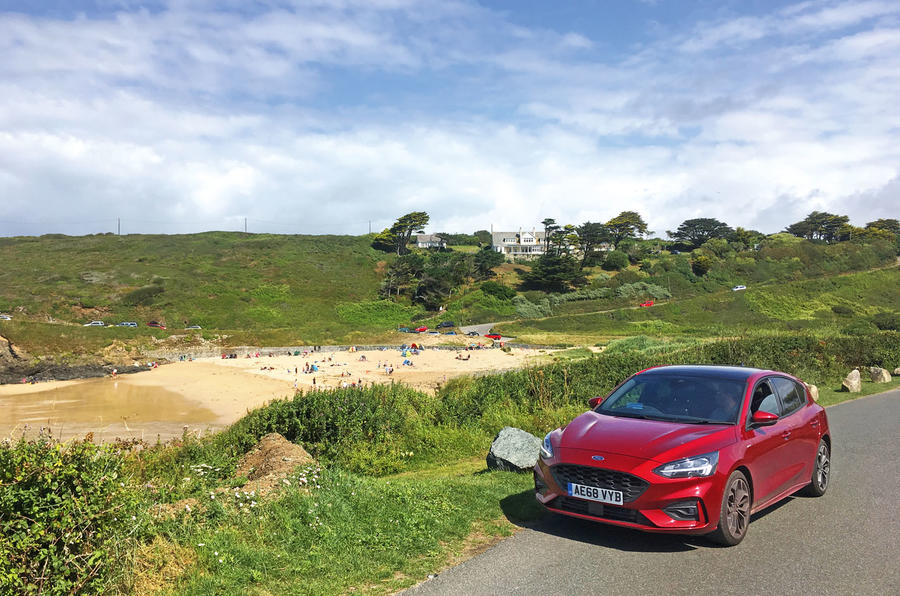 Ford Focus long-term review - cornwall beach front