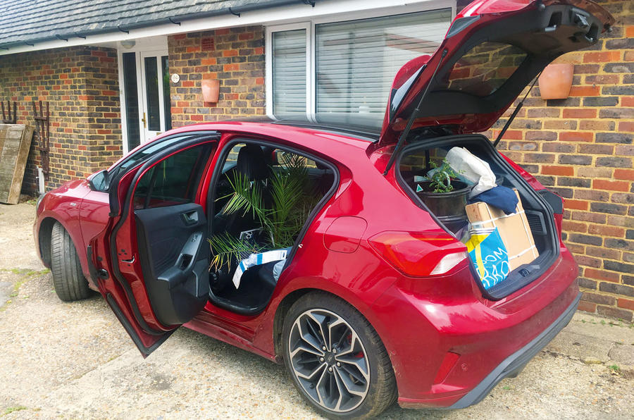 Ford Focus long-term review - moving house