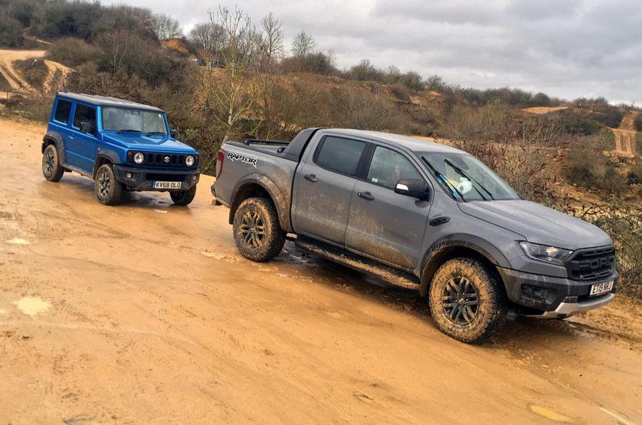 Ford Ranger Raptor 2019 long term review - Raptor meets Jimny