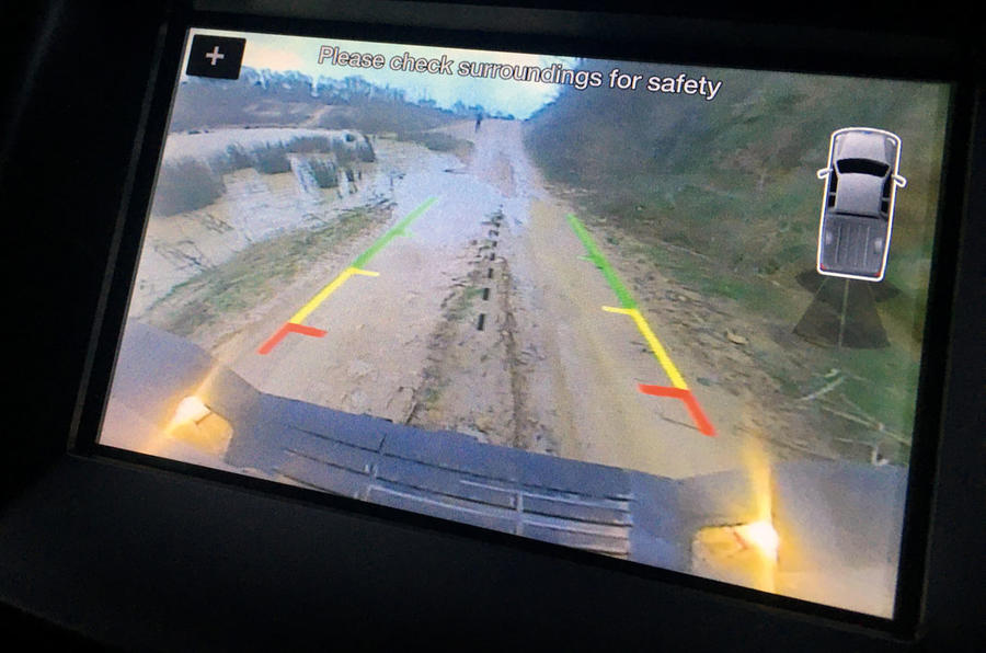 Ford Ranger Raptor 2019 long term review - rear view camera