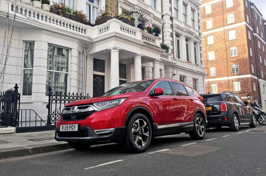 Honda CR-V hybrid 2019 long-term review - London living