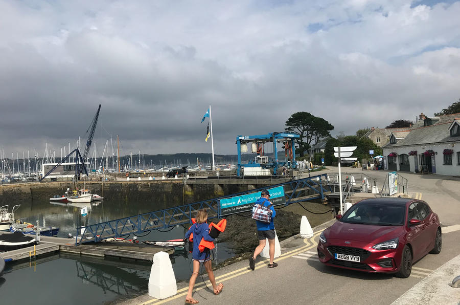 Ford Focus long-term review - Cornwall dock front