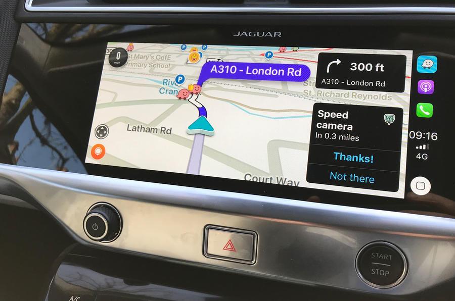 Jaguar I-Pace 2019 long-term test review - Waze