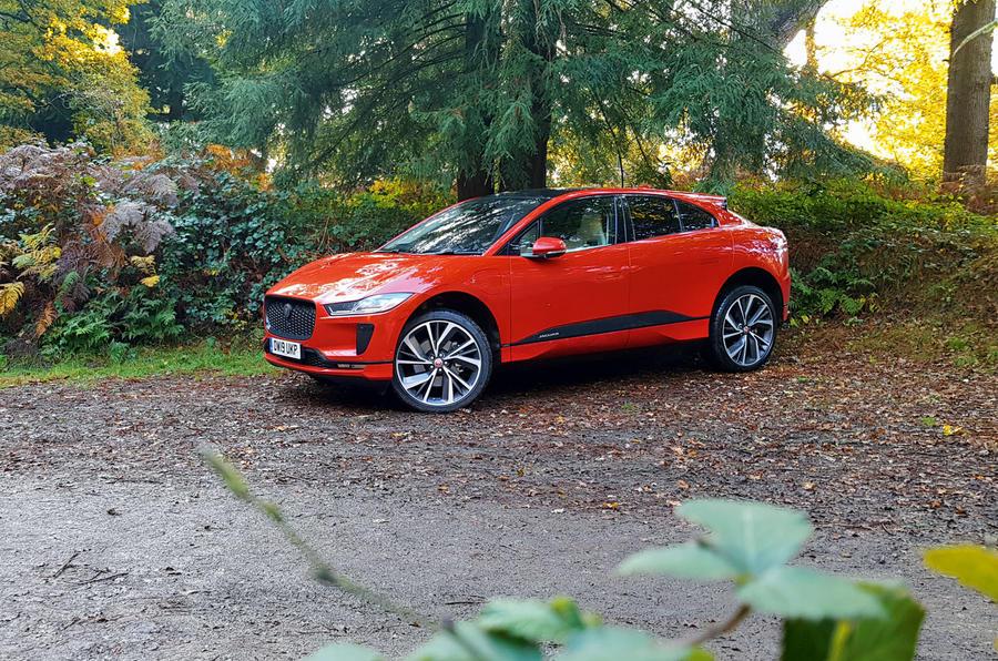 Jaguar I-Pace 2019 long-term test review - parked