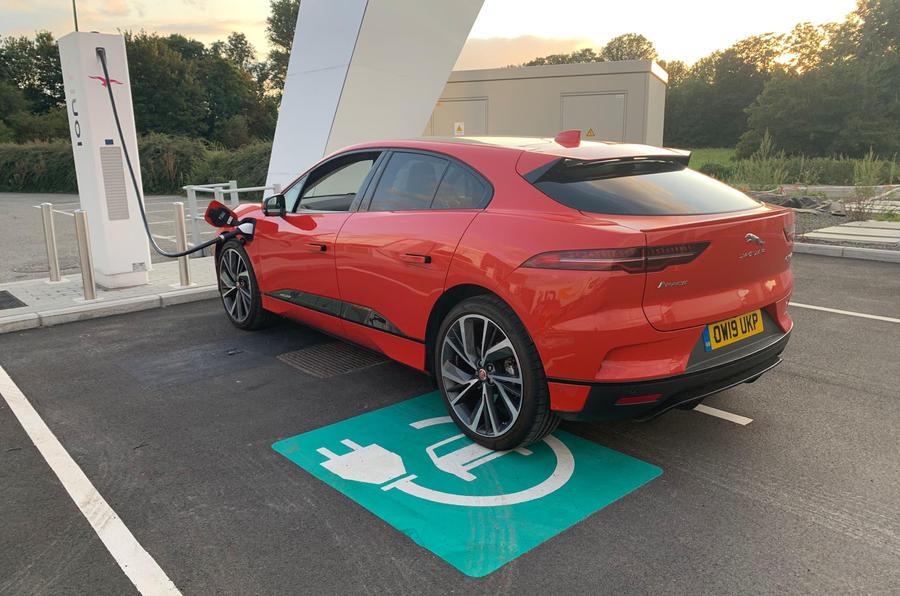 Jaguar I-Pace 2019 long-term test review - EV parking only