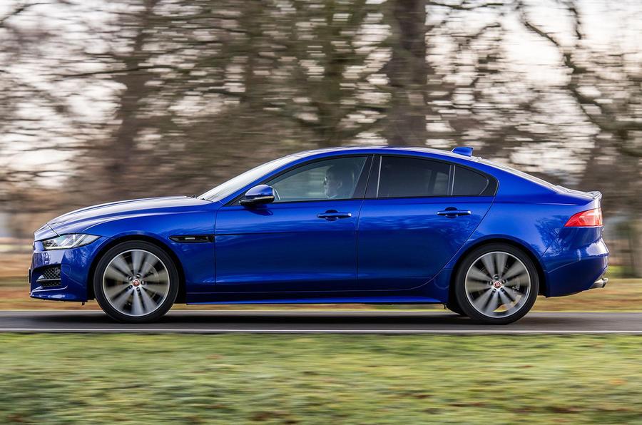 Jaguar XE pre-facelift