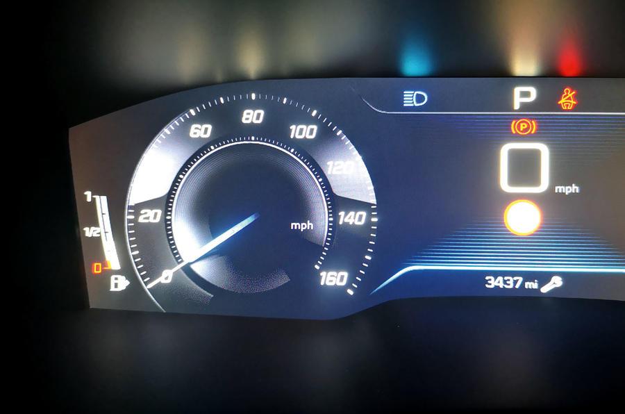 Peugeot 508 SW : révision à long terme - instruments