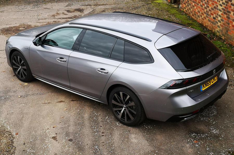 Peugeot 508 SW : bilan à long terme - arrière