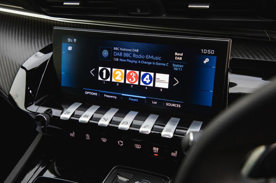 Peugeot 508 SW : bilan à long terme - infotainment