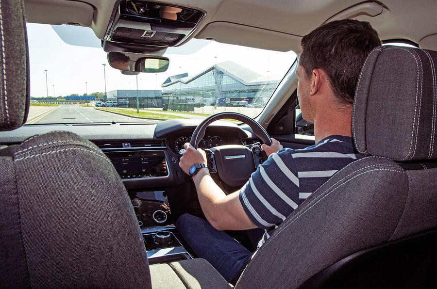 Range Rover Velar 2019 long-term review - Mark Tisshaw driving