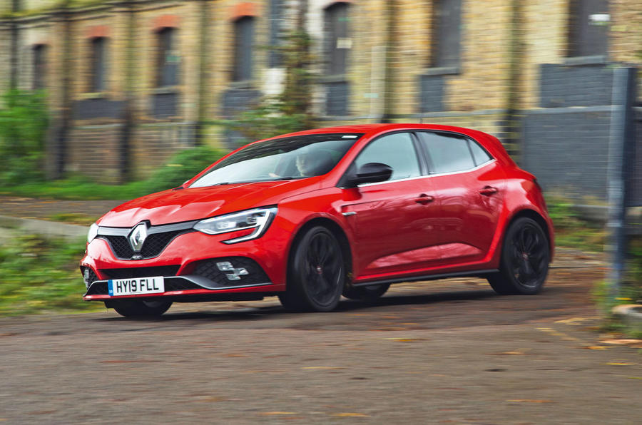 Renault Megane RS 280 2019 long-term review - action front