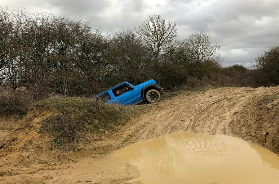 Suzuki Jimny 2019 long-term review - off-roading 2