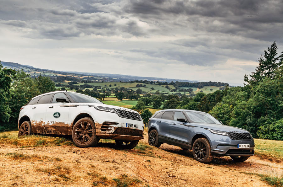 Range Rover Velar 2019 long-term review - at Land Rover experience centre