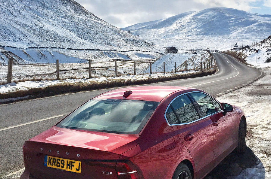 Volvo S60 T5 2020 long-term review - snowy