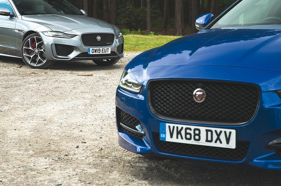 Jaguar XE meets Jaguar XE