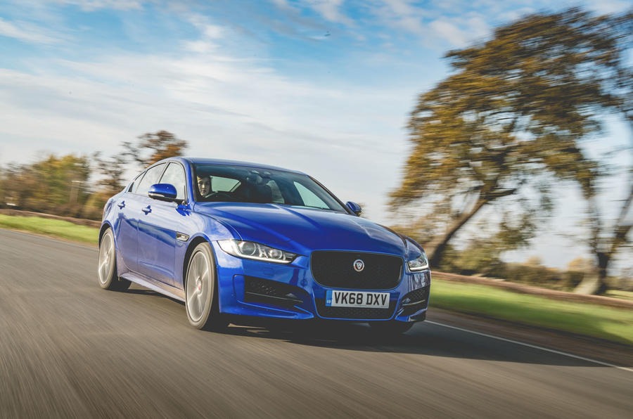 Jaguar XE 2019 long-term review - hero front