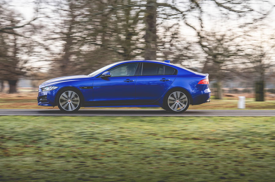 Jaguar XE 2019 long-term review - on the road side