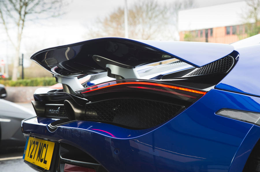 McLaren 720S 2019 long-term review - spoiler